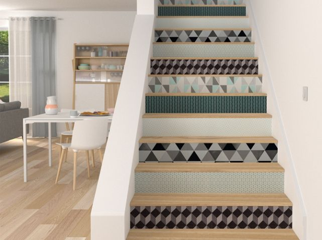 d coration escalier et habillage d 39 escalier agencement d coration dijon. Black Bedroom Furniture Sets. Home Design Ideas
