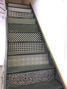 décoration escalier Dijon, personnalisation escalier Dijon, agencement décoration Dijon
