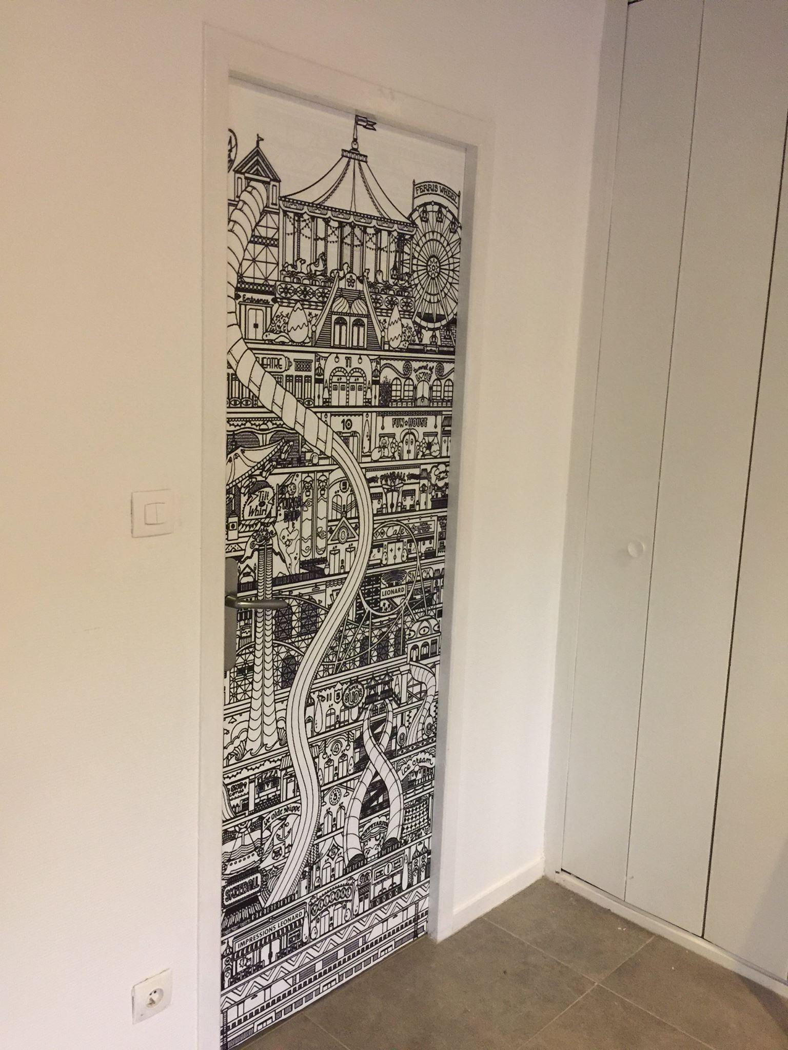 Deco Porte De Placard portes personnalisées • agencement décoration dijon