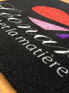 tapis personnalisés noir, tapis personnalisés Dijon, tapis personnalisés côte d'or